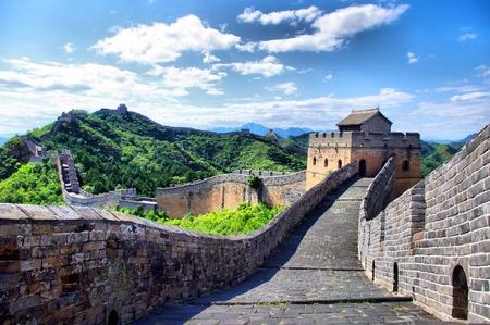 Pechino Grande Muraglia cinese Archivio Fotografico - 15622551