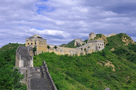 Beijing Great Wall of China Stock Photo - 17035012