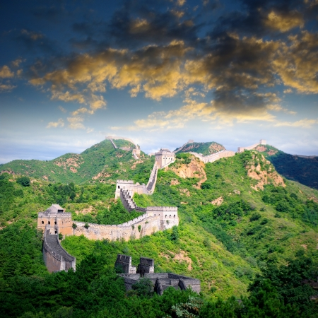 Beijing Great Wall of China Stock Photo - 17168270