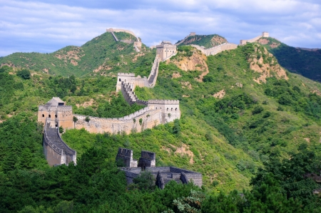 Beijing Great Wall of China Stock Photo - 15685344