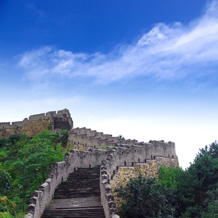 Beijing Great Wall of China Stock Photo - 15650723
