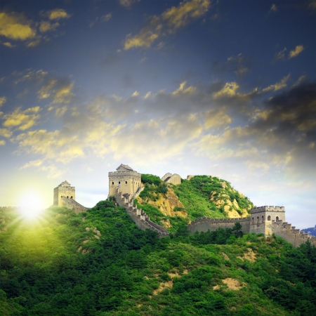 Beijing Great Wall of China Stock Photo - 15651699