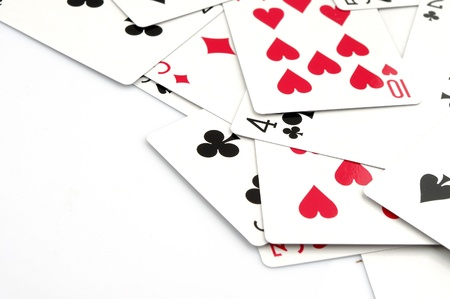 gamblers: playing cards