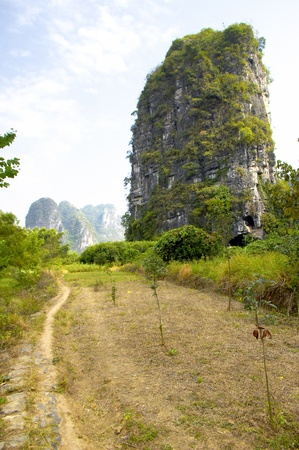 Guilin mountains photo