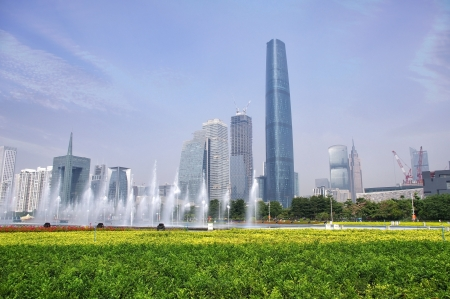 Guangzhou parks and building Stock Photo - 17394950