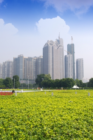 Guangzhou parks and building Stock Photo - 17395014