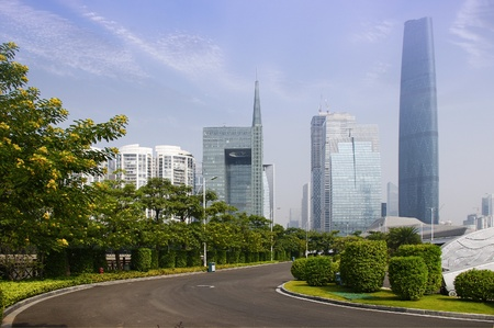 Guangzhou parks and building Stock Photo - 17395013