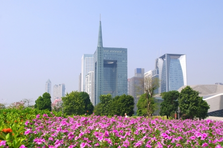 Guangzhou city panorama Stock Photo - 17395015
