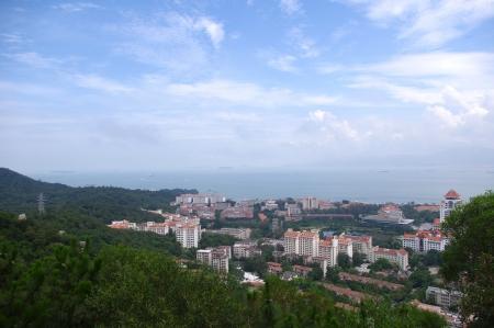 Xiamen view from Gulang-yu island, China Stock Photo - 17394878