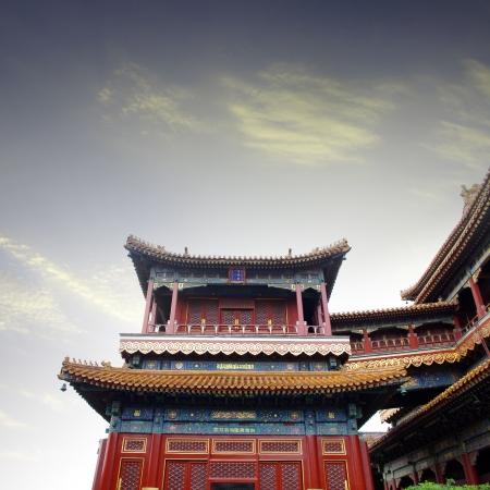 the lama: Lama Temple Stock Photo