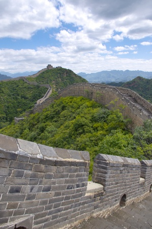 Beijing Great Wall of China Stock Photo - 17505558