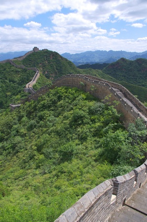 Beijing Great Wall of China Stock Photo - 17506869