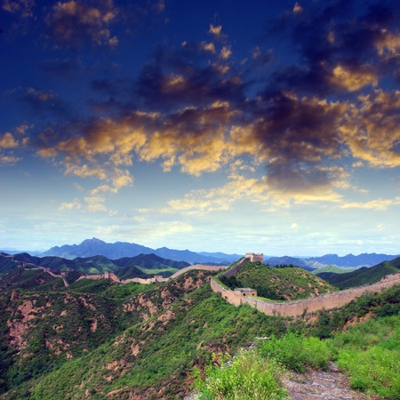 Beijing Great Wall of China Stock Photo - 17168391