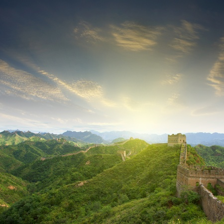 Beijing Great Wall of China Stock Photo - 17168333