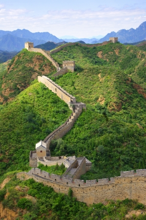 Beijing Great Wall of China Stock Photo - 17506867