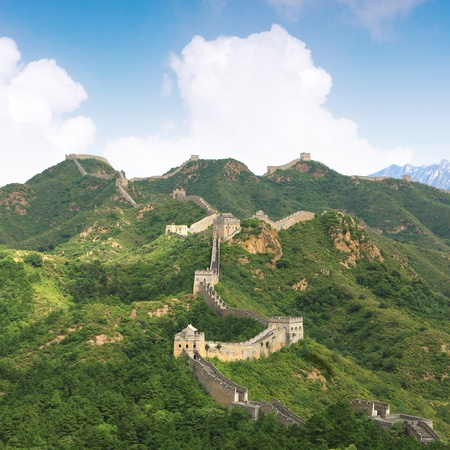 Beijing Great Wall of China Stock Photo - 17505557