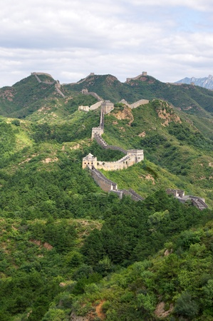Beijing Great Wall of China Stock Photo - 17505554