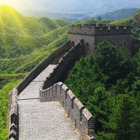 Beijing Great Wall of China Stock Photo - 17505559