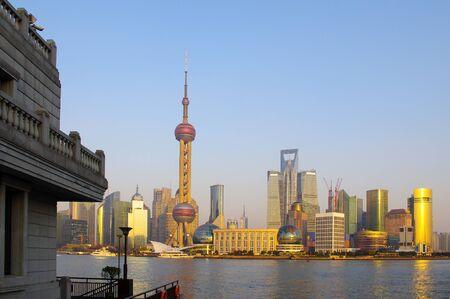 Sunset Shanghai Stock Photo - 17465667
