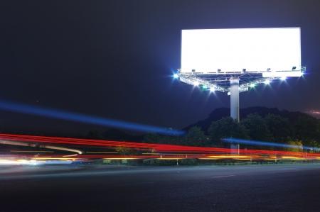 公路廣告牌 版權商用圖片