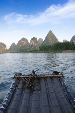 Guilin rafting photo