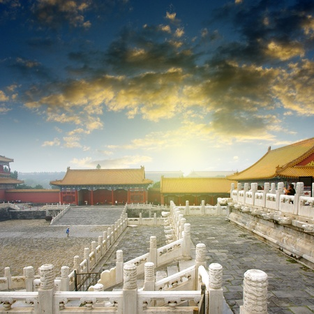 Imperial Palace in Beijing, China photo