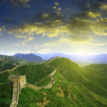 Pechino Grande Muraglia Cinese