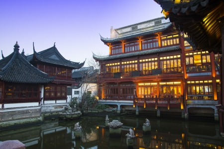 china Shanghai Yuyuan Built in 1559,Renowned ancient architecture attraction
