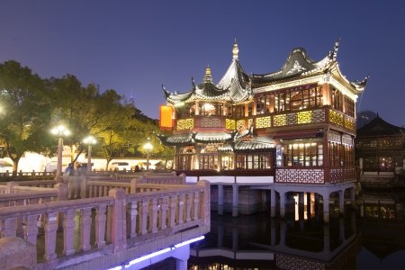 china Shanghai Yuyuan Built in 1559,Renowned ancient architecture attraction  photo