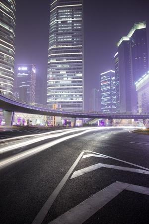 Night car speed blur background Stock Photo - 20694891