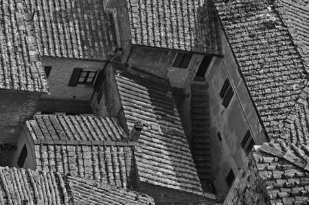 Tuscanian Roofs Stock Photo - 8973422