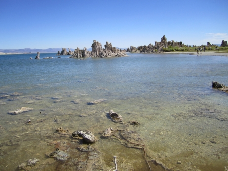 owens valley: Mono Lake, Tufa, Mono Lake Tufa, Owens Valley, oasis, California