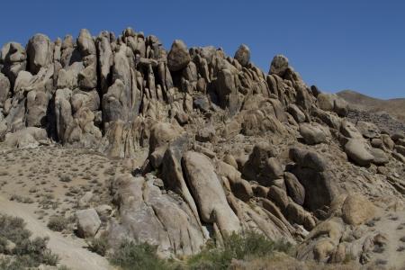 Alabama Hills, Rock Formations, Lone Pine, California photo