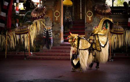 Barong Dance - Bali, Indonesia (Color Version) Editorial