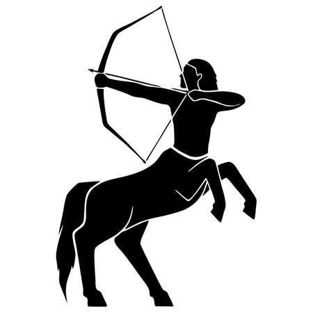 Zodiac Sign - Sagitarius Stock Photo