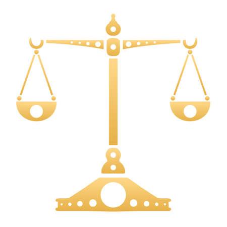 Zodiac, Astrology Sign Illustration - Libra