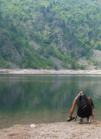 Vers water van bergmeer