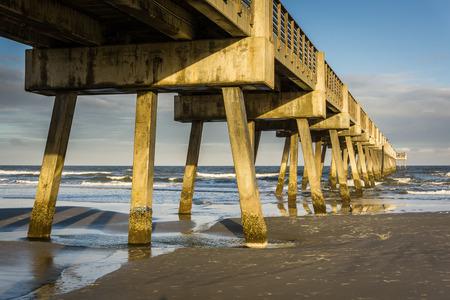 Pier in Florida Stock Photo