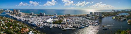 Fort Lauderdale Beach Florida International boat show