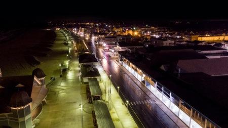 Hampton New Hampshire night photo