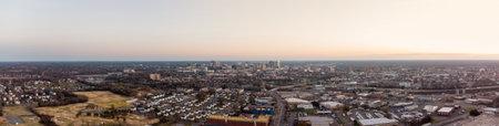 Aerial photo north side Richmond VA USA