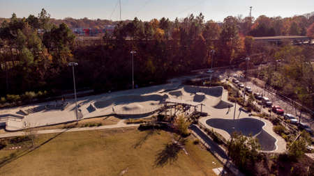 Atlanta Georgia skate park on the BeltLine