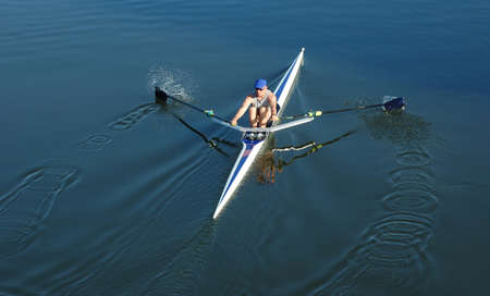 Rowing on the Delaware