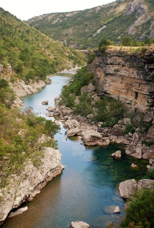 tara: Tara river canyon in Montenegro mountains