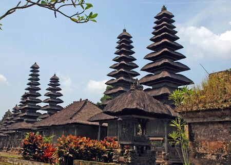 Taman Ayun Temple in Mengwi (Bali, Indonesia) on a beautiful sunny day. Originally dated from 1634. photo