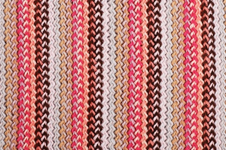 Multi-colored knitting striped wool texture. may be used as background photo