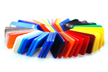 multicolor plastic Stock Photo - 10423019