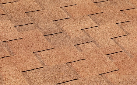tile roof background close-up