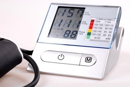 A digital tonometer Stock Photo