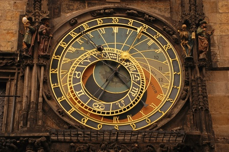 clocktower: The Prague Astronomical Clock, or else the Old Town Astronomical Clock, is one of the most renown and most visited tourist attractions in the historical centre of Prague. The medieval astronomical clock adorns the southern wall of the Old Town City Hall i